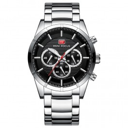 Megir Mini Focus Chrono Steel/Black-20