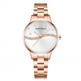 Megir Mini Focus MF0263 Diamond Rose Gold-20