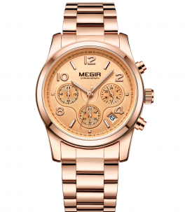 Megir MF2057 Chrono Rose-20
