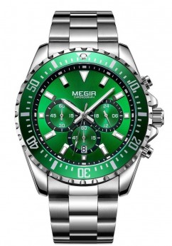 Megir Aviator Steel/Green-20