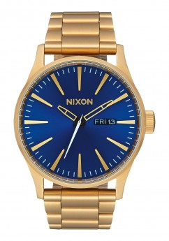 Nixon Sentry SS All Gold / Blue Sunray-20