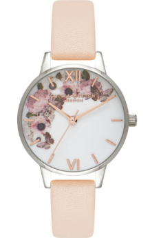 Olivia Burton Floral Peach Silver And Rose Gold-20