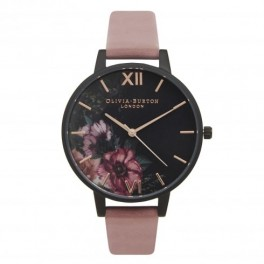 Olivia Burton After Dark Floral Black Dial and Rose Floral-20