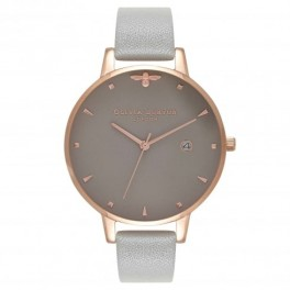 Olivia Burton Queen Bee Grey and Rose Gold-20
