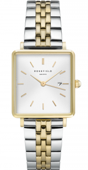 Rosefield The Boxy White Sunray Silver Gold Duo-20