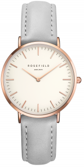 Rosefield The Tribeca White Grey Rose Gold-20