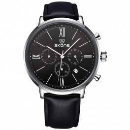 Skone Classic Leather Black-20