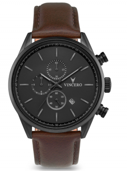 Vincero Chrono S Gunmetal/Walnut-20
