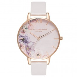 Olivia Burton Watercolour Florals Blush and Rose Gold-20