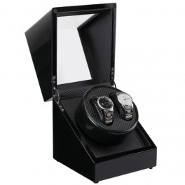 Watch winder i sort piano træ-20