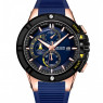 Megir Luminous Chrono Blue/Rosegold