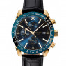Dissing Chrono Leather Black/Gold/Blue
