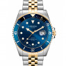 Dissing Diver Silver/Gold/Blue