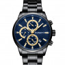 Studsgaard Chronograph Black/Blue