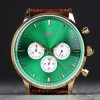 Grand Frank Montpellier Green Chronograph-015