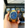 Lugano Chrono Gold/Blue-022