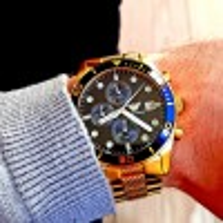 Armani designer ur i guld-011