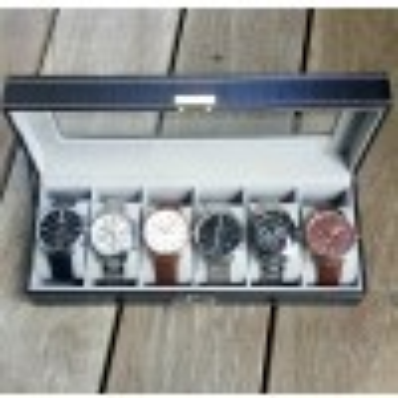 Urboks i læder inklusiv 2 valgfrie ure og 2 valgfrie armbånd-08
