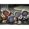 Megir Mini Focus Chrono Gold/Brown-048