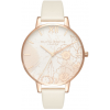 Olivia Burton Abstract Florals Vegan Nude and Rose Gold-010