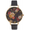 Olivia Burton Winter Garden Black and Gold-01