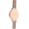 Olivia Burton White Dial Grey Lilac and Rose Gold-01
