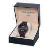 Paul Hewitt Chrono Line Black Sunray Stainless Steel Mesh-01