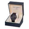 Paul Hewitt Chrono Line Black Sunray Rose Gold Leather-08