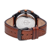 Paul Hewitt Chrono Line Black Sunray Rose Gold Brown Leather-011