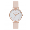 Olivia Burton Queen Bee T-Bar Nude Peach and Rose Gold-016