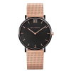 Paul Hewitt Sailor Line Black Sunray Mesh Strap Rose Gold-010