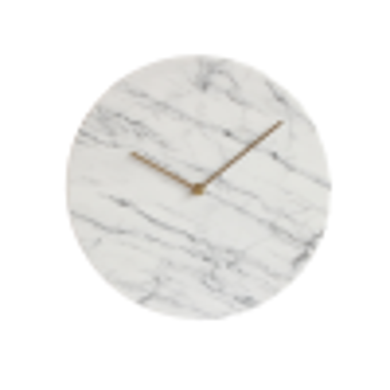 Hvid Marmor Vægur-019