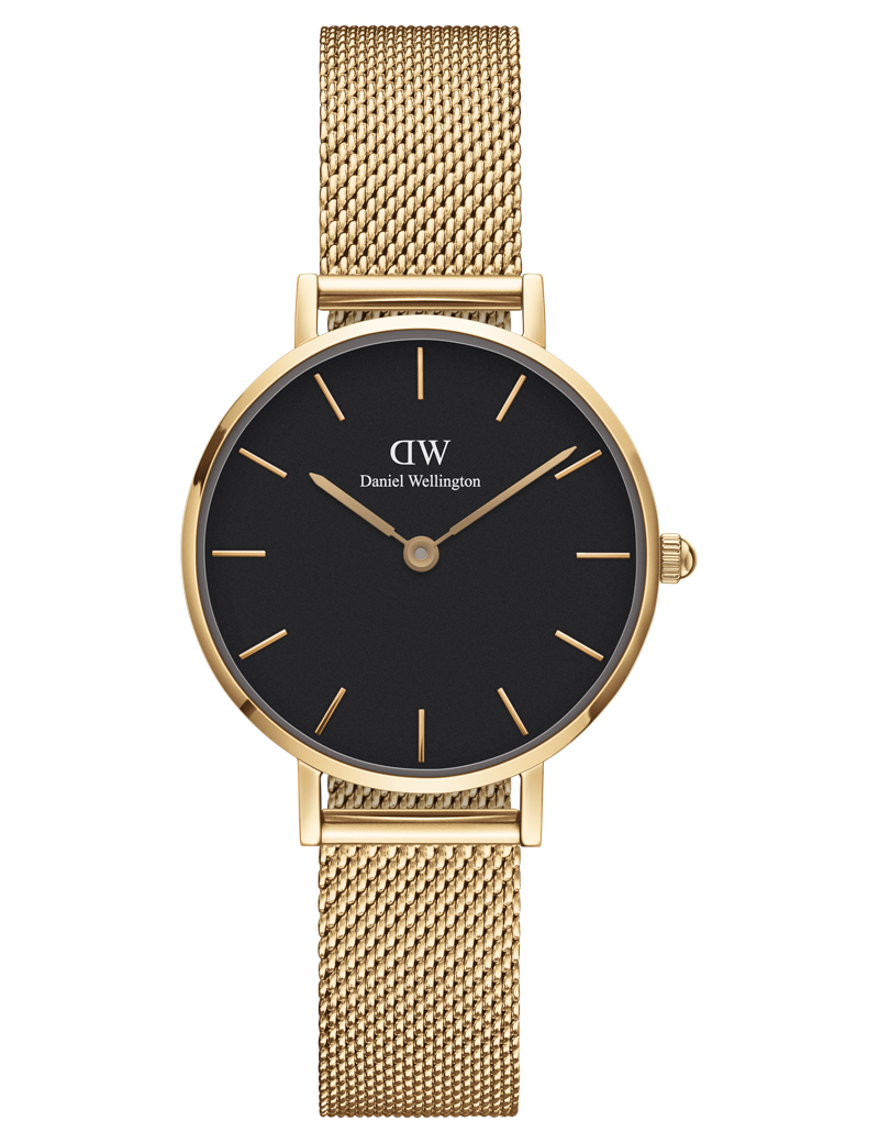 Image of   Daniel Wellington Classic Petite 28 Evergold Black