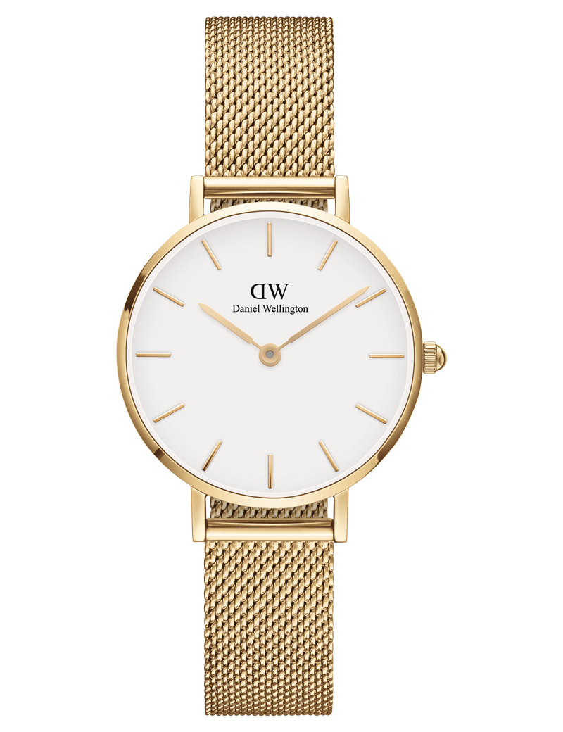 Image of   Daniel Wellington Classic Petite 28 Evergold White