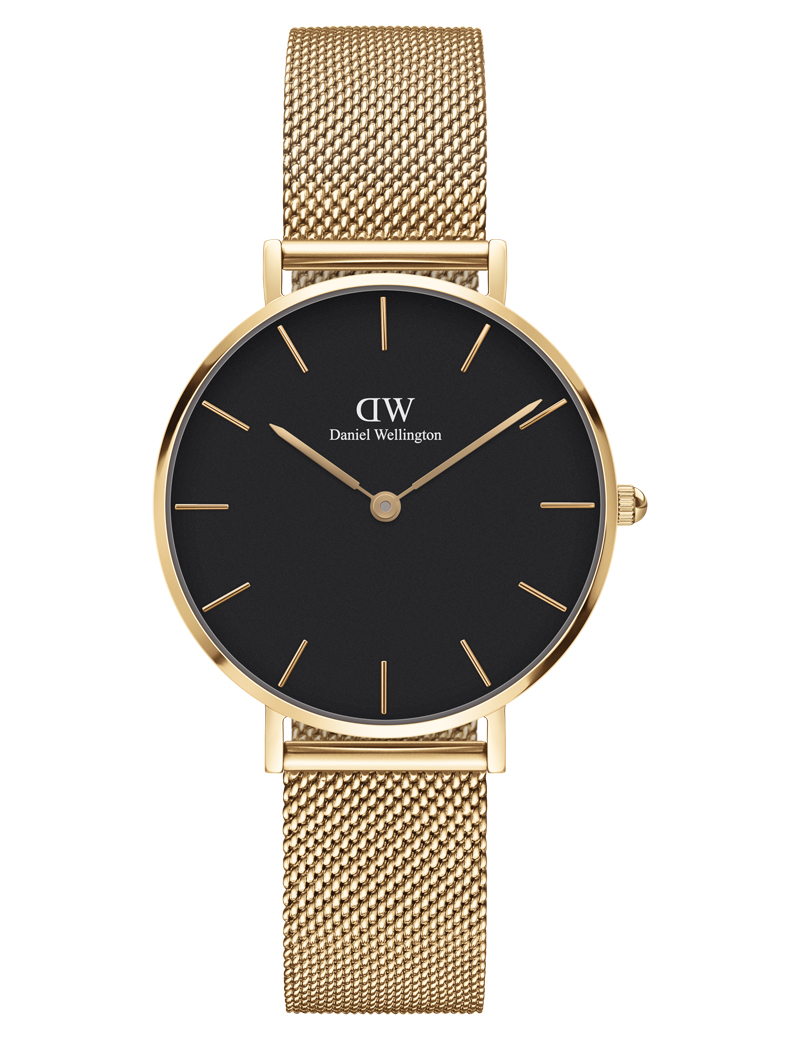 Image of   Daniel Wellington Classic Petite 32 Evergold Black