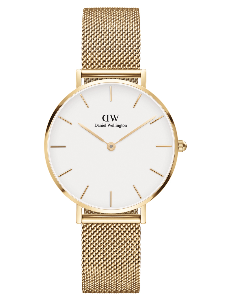 Image of   Daniel Wellington Classic Petite 32 Evergold White