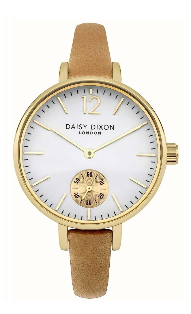 Daisy Dixon Gracie Tan Leather