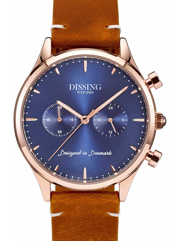 Billede af Dissing Leather Gold/Blue