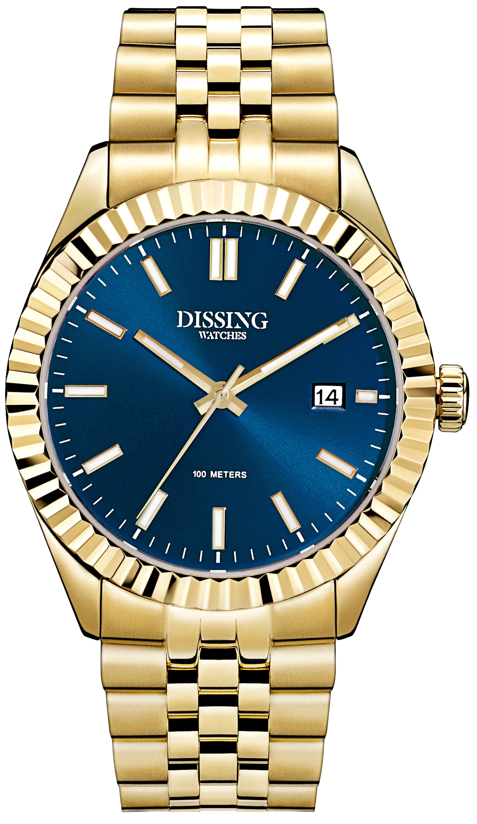 Image of   Dissing Date Gold/Blue