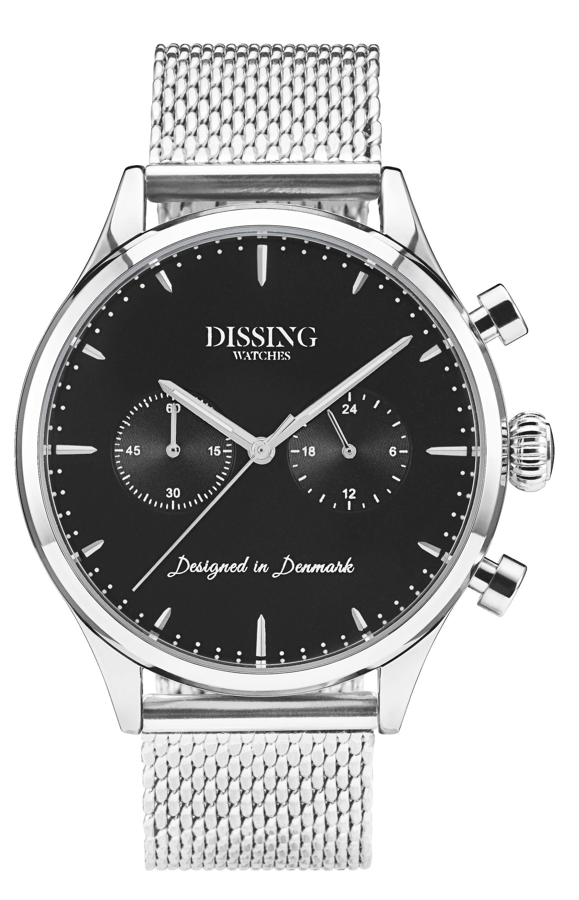 Image of   Dissing Mesh Steel/Black