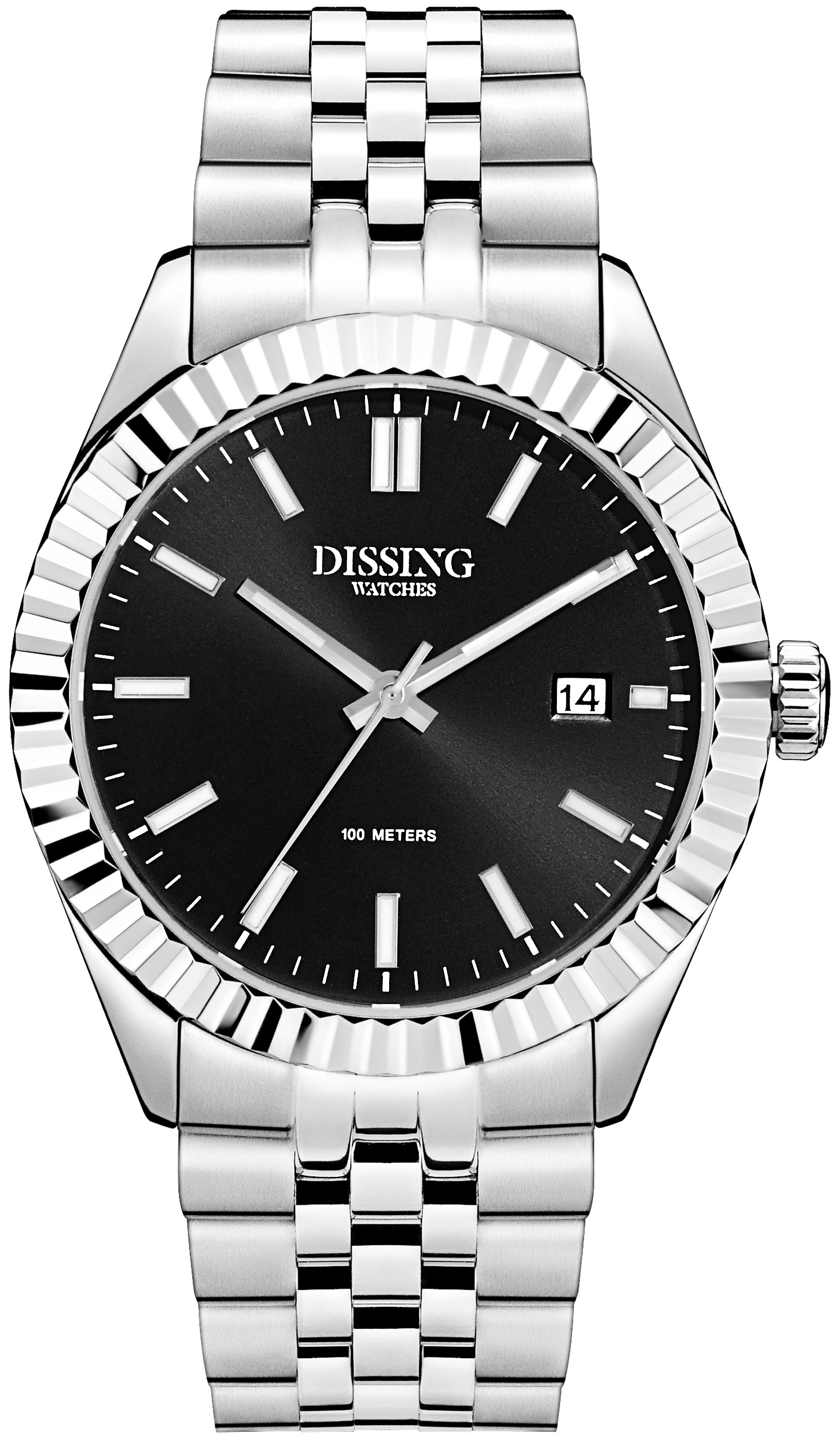 Image of   Dissing Date Steel/Black
