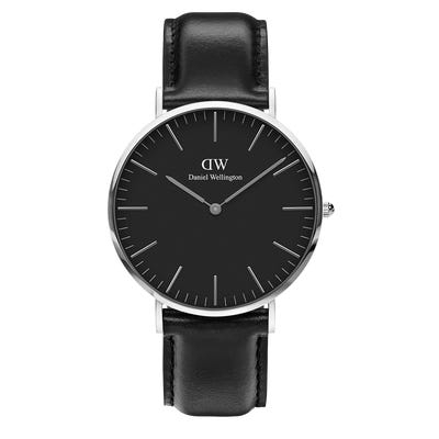 Image of   Daniel Wellington Classic 40 Sheffield Steel Black