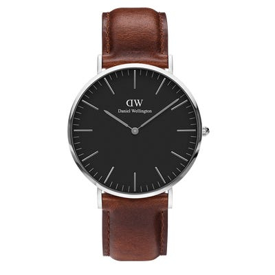 Image of   Daniel Wellington Classic 40 St Maws Steel Black