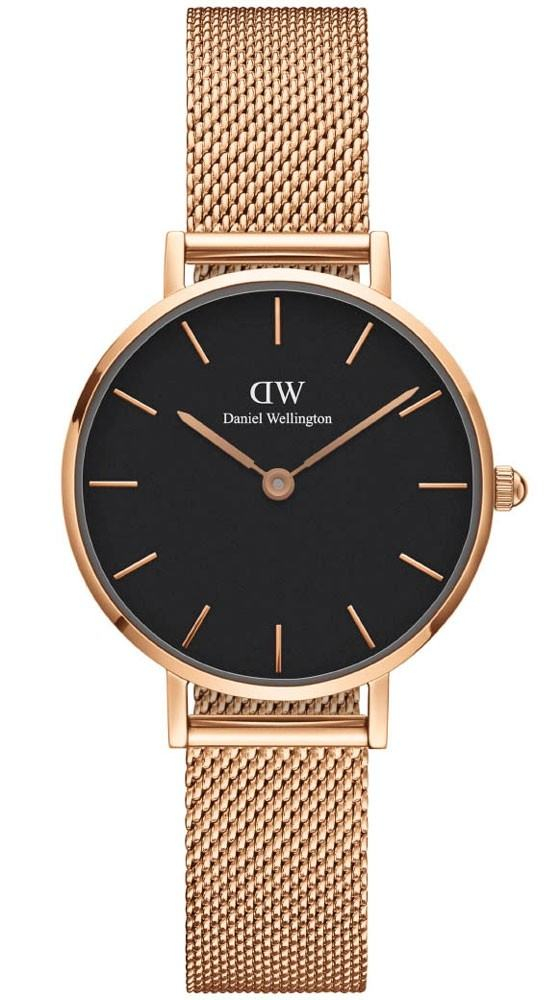 Image of   Daniel Wellington Classic Petite 28 Melrose Black