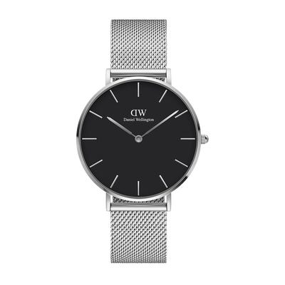 Image of   Daniel Wellington Classic Petite 36 Sterling Black