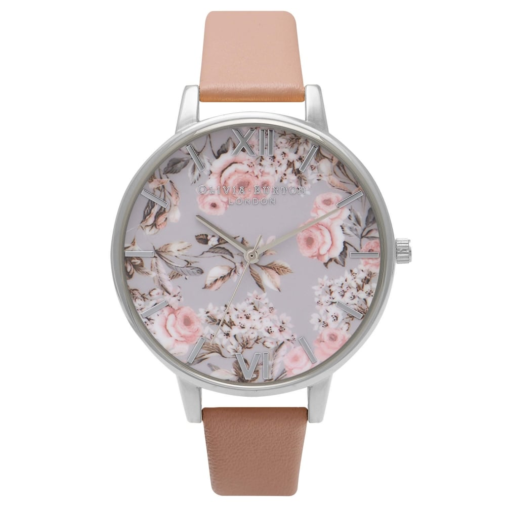 Olivia Burton Enchanted Garden Dusty Pink/Silver