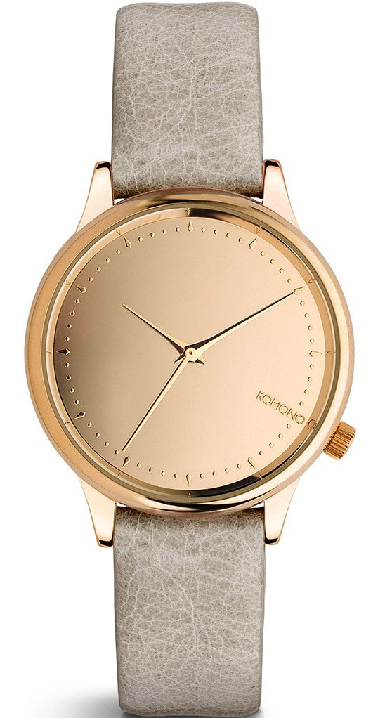 Image of   Komono Estelle Mirror Rose Gold Grey