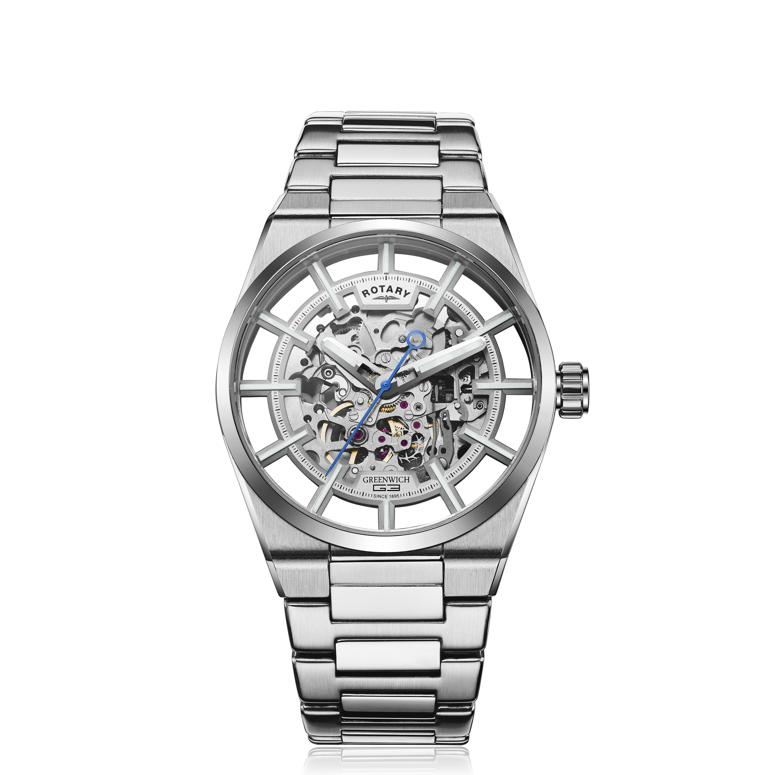 Image of   Rotary Greenwich G3 Stainless Steel Automatic GB05210/06