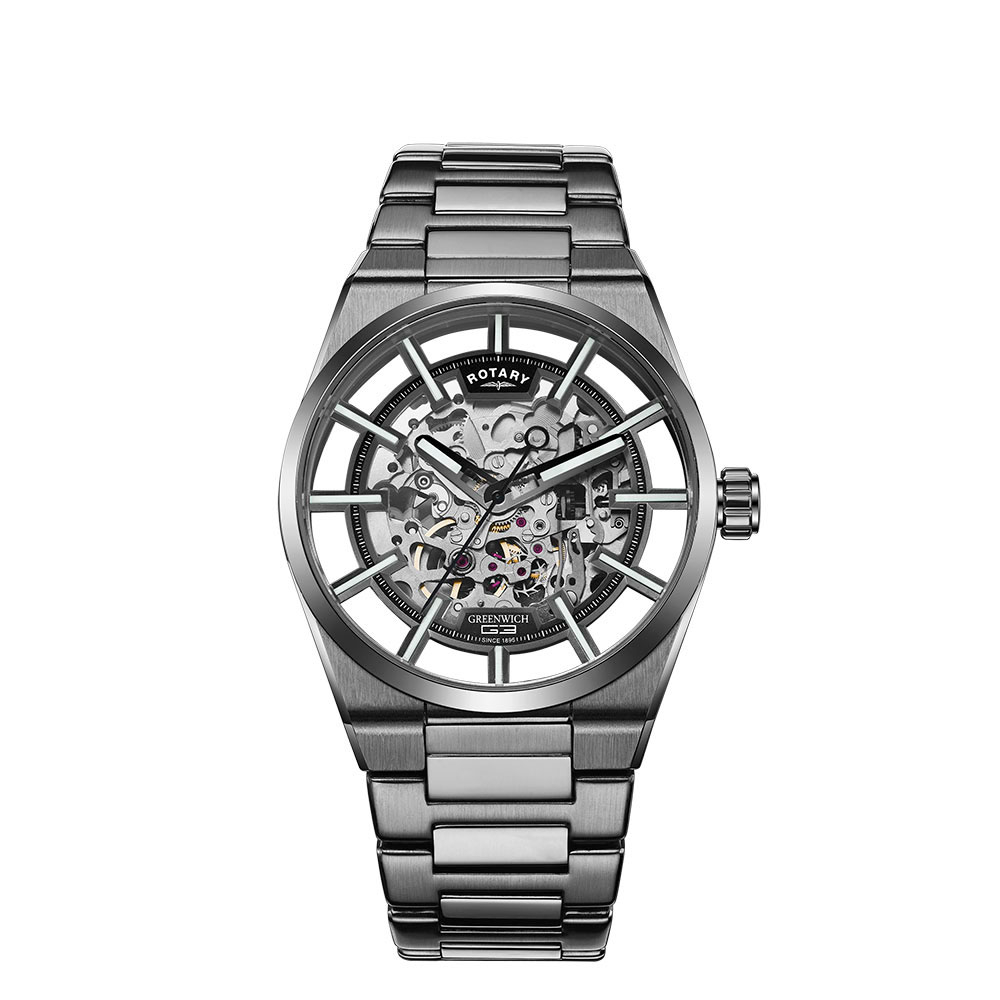 Image of   Rotary Greenwich G3 Titanium Plated Automatic GB05215/04
