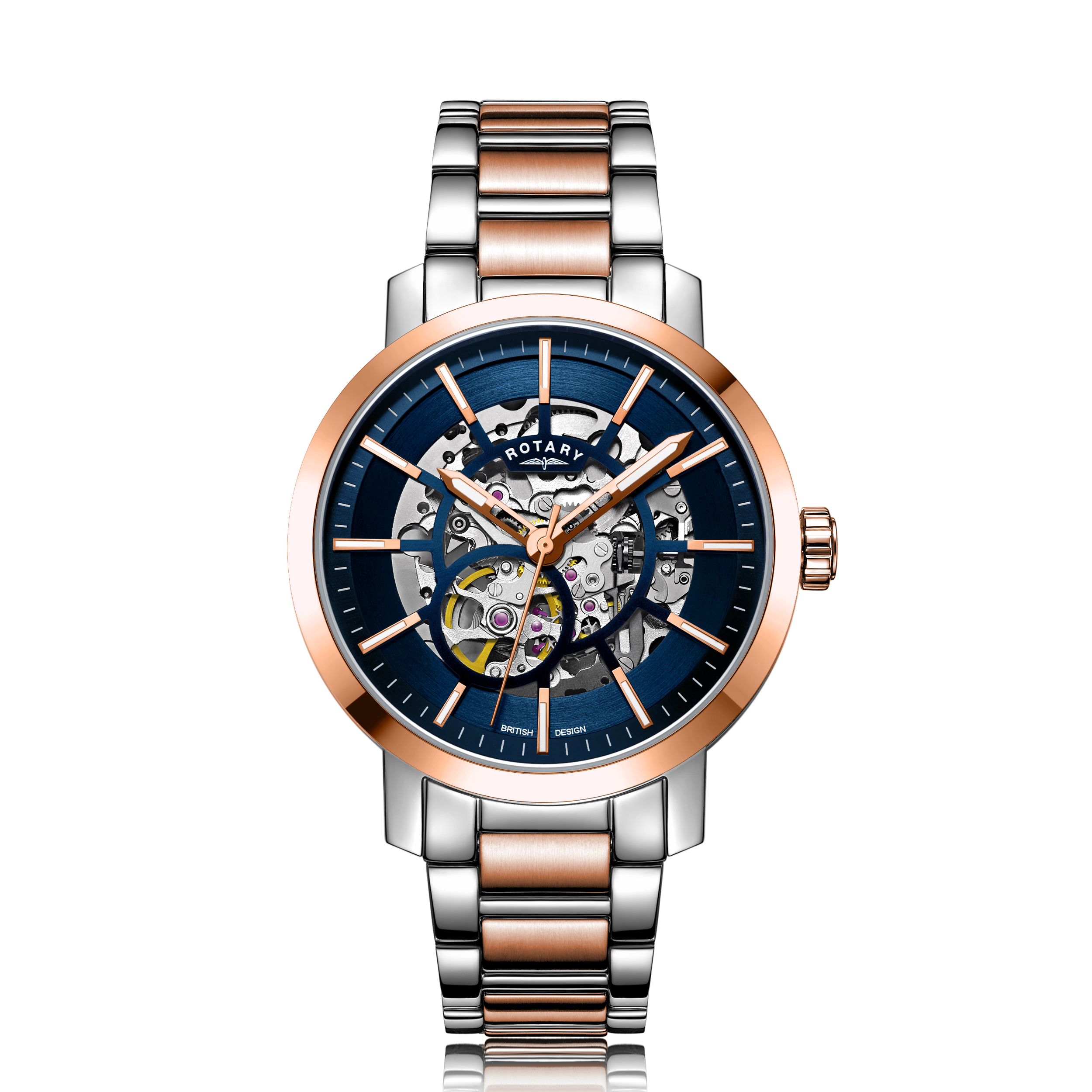 Image of   Rotary Greenwich G2 Automatic Two Tone Rose GB05352/05